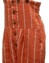 Kapital red striped salopette K1903OP037 RED price