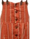 Salopette Kapital rossa a righe K1903OP037 RED acquista online