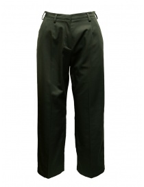 Womens trousers online: Cellar Door Chocta moss green trousers