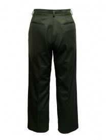 Cellar Door Chocta moss green trousers buy online