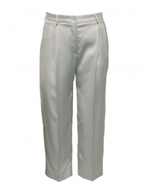 Cellar Door Iris ice white trousers IRIS-HQ052 90 GHIACCIO order online