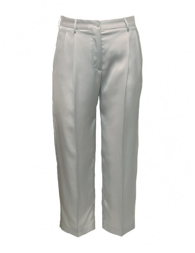 Cellar Door Iris ice white trousers IRIS-HQ052 90 GHIACCIO womens trousers online shopping