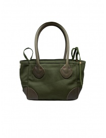 Kapital khaki bag with smiley price