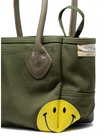 Kapital khaki bag with smiley bags buy online