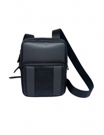 Tardini alligator leather and carbon fiber small bag online