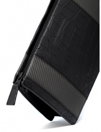 Tardini alligator leather and carbon fiber small bag bags buy online