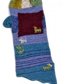 Kapital blue and purple gloves price