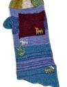 Kapital blue and purple gloves K1510XG380 BLUE price