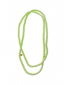Annette Weisser bright green necklace online