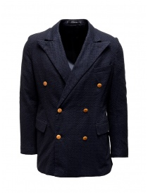 Haversack navy double-breasted blazer online