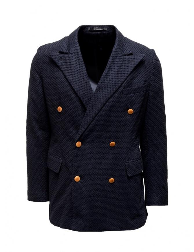 Giacca doppiopetto Haversack blu navy 871607 59 NAVY giacche uomo online shopping