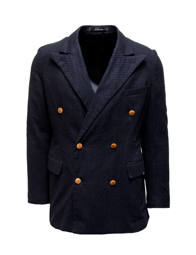 Haversack navy double-breasted blazer 871607 59 NAVY mens suit jackets online shopping