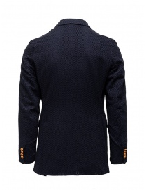 Haversack navy double-breasted blazer