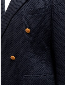Haversack navy double-breasted blazer mens suit jackets buy online