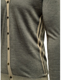 Adriano Ragni grey and baige striped cardigan price