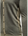 Adriano Ragni grey and baige striped cardigan 1618007 01 ST 16/215 price
