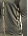 Cardigan Adriano Ragni rigato grigio e beige 1618007 01 ST 16/215 prezzo