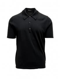 T shirt uomo online: Polo Adriano Ragni nera