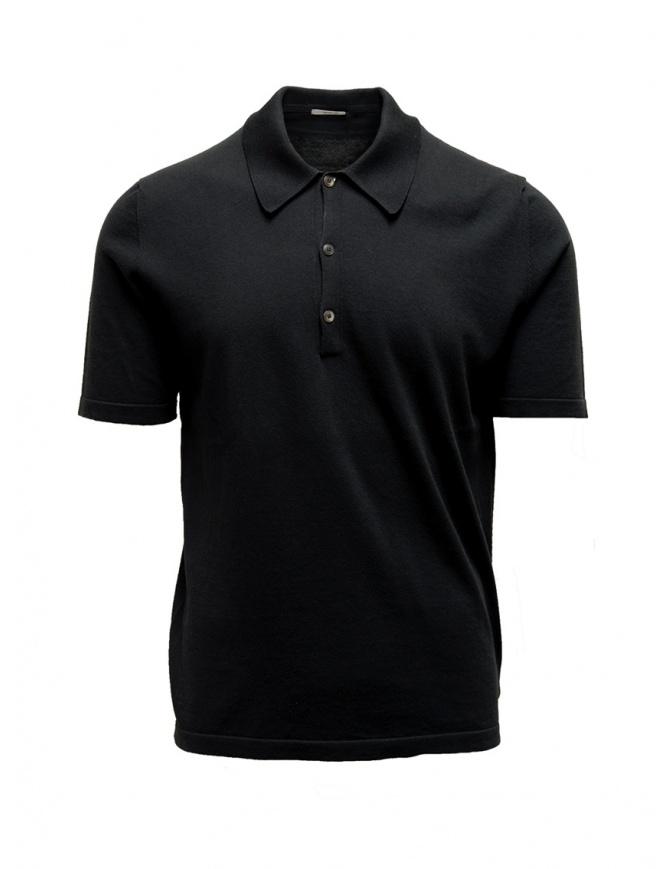 Polo Adriano Ragni nera 8ARTS07 CO131 RG 8/12 t shirt uomo online shopping
