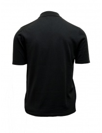 Adriano Ragni black polo shirt