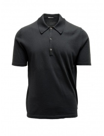 Adriano Ragni dark grey polo shirt online