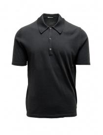 T shirt uomo online: Polo Adriano Ragni grigio scuro