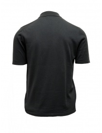 Adriano Ragni dark grey polo shirt