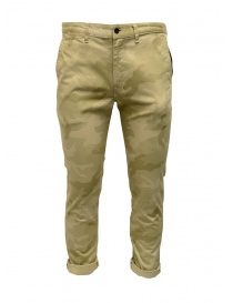 Japan Blue Jeans mimetic beige trousers JB4100 CAMO order online