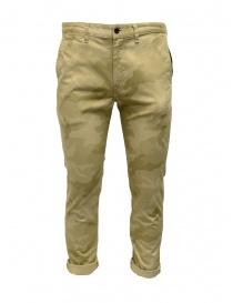 Pantaloni Japan Blue Jeans beige mimetico online