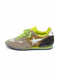 Golden Goose Haus fluo details men's sneakers