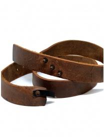 Cintura cuoio marrone Alexander Fielden