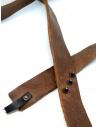 Cintura cuoio marrone Alexander Fielden BT003 GROSSED BROWN prezzo