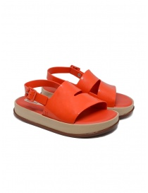 Womens shoes online: Melissa coral red sandal