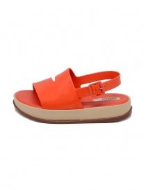 Melissa coral red sandal