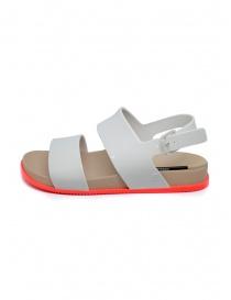 Melissa Cosmic Sandal III bianco con suola rosa