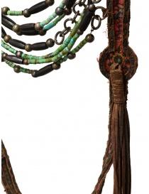 Collana Share-Spirit in pelle scamosciata e perle verdi prezzo