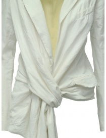 Marc Le Bihan knotted white jacket price