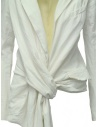 Marc Le Bihan knotted white jacket 2200 WHITE price
