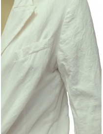 Marc Le Bihan knotted white jacket womens suit jackets buy online