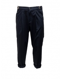 Cellar Door Leot navy trousers LEOT-HC021 69 BLU NAVY order online