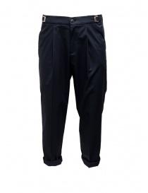 Pantalone Cellar Door Leot blu navy LEOT-HC021 69 BLU NAVY
