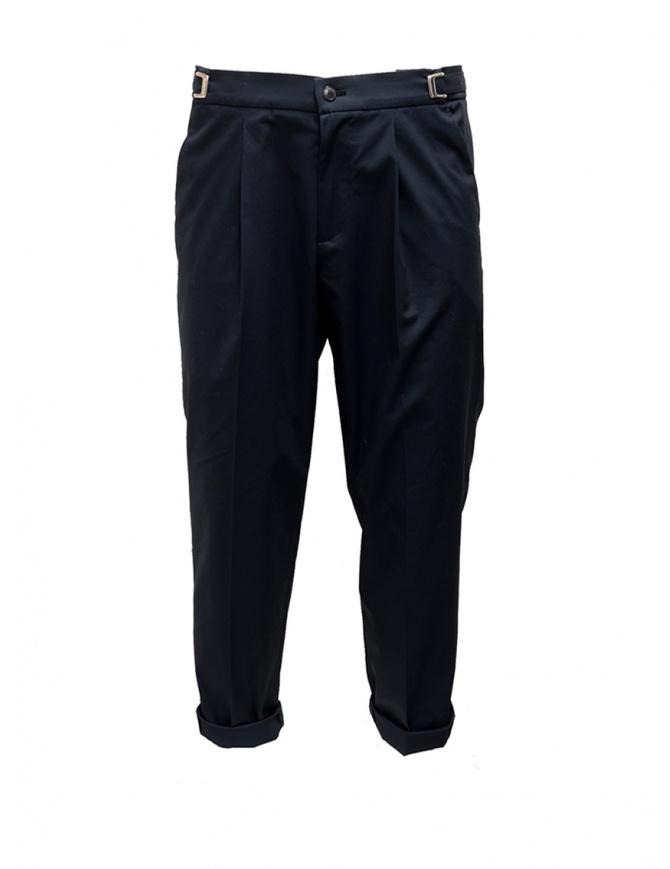 Pantalone Cellar Door Leot blu navy LEOT-HC021 69 BLU NAVY pantaloni uomo online shopping