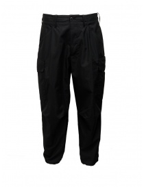 Cellar Door Cargo black trousers CARGO-HC023 99 NERO order online