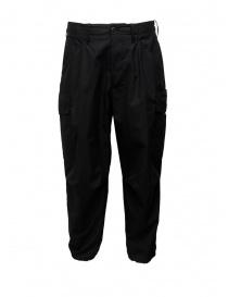 Pantalone Cellar Door Cargo nero CARGO-HC023 99 NERO order online