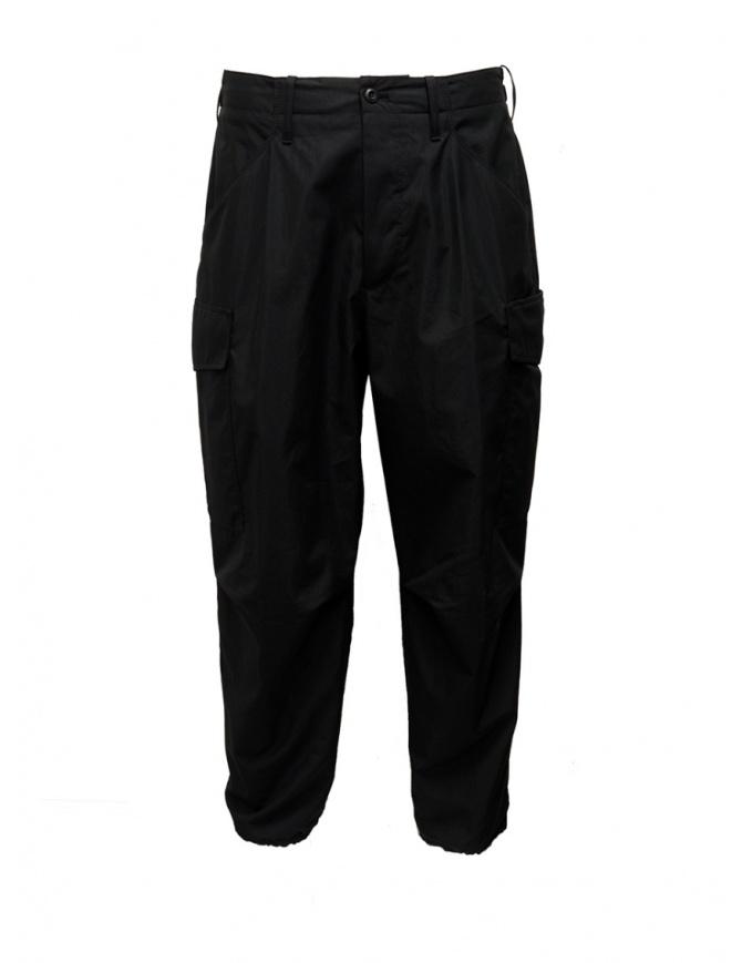 Cellar Door Cargo black trousers CARGO-HC023 99 NERO mens trousers online shopping