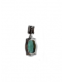 ElfCraft baroque pendant with green zirconia online