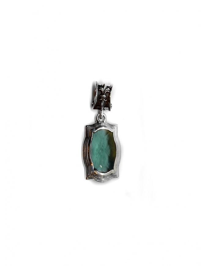 Pendente ElfCraft barocco con zirconia verde 514.433S PENDANT BAROCK preziosi online shopping