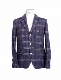 08SIRCUS purple checkered suit jacket JK09B-50