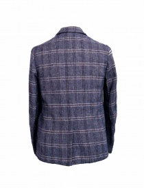 08SIRCUS purple checkered suit jacket price