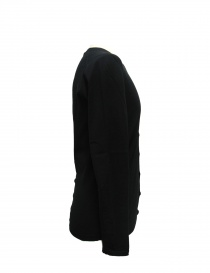 Adriano Ragni black cotton cardigan